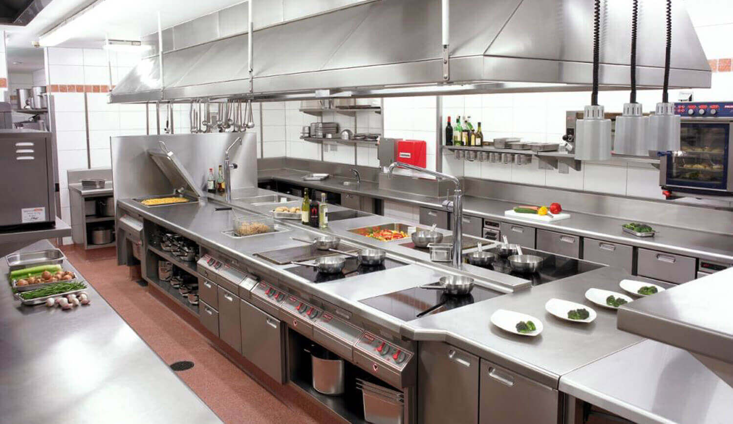 Practical Training in Commercial Training Kitchen